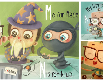 My Little Geek Board Books: Kickstarter Campaign for Nerdy Numbers and Sci-fi Shapes