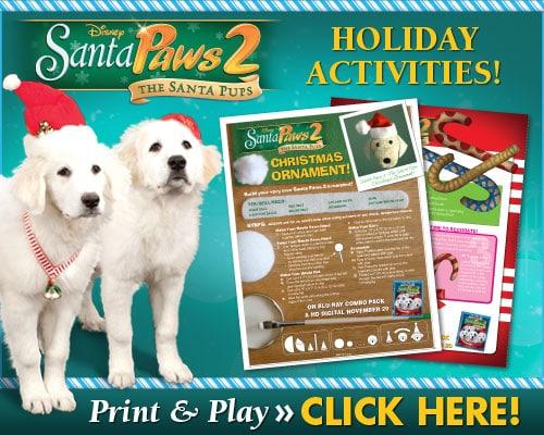 Santa Paws 2 Holiday Activities