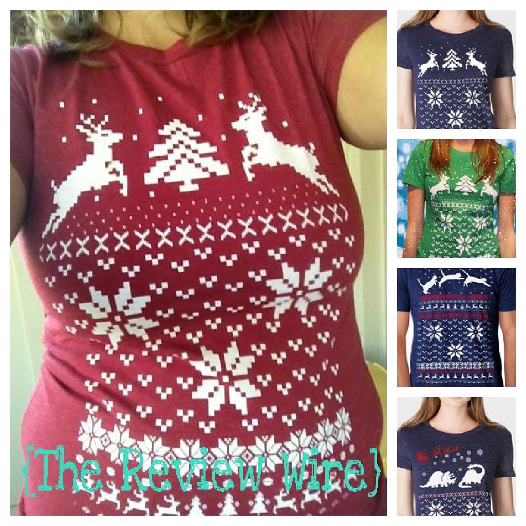 The Review Wire: Ugly Christmas TShirt