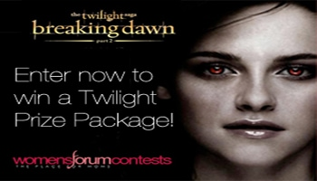 Breaking Dawn Part 2 Prize Package