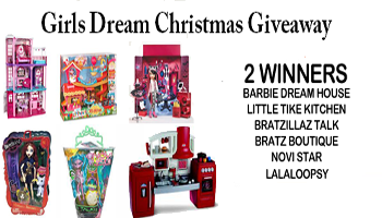 Girls Dream Christmas Giveaway