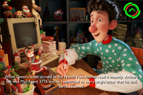 Arthur Christmas Movie Storybook App