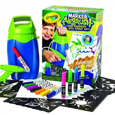 Crayola Digital Light Designer: Video Review & Crayola Marker AirBrush
