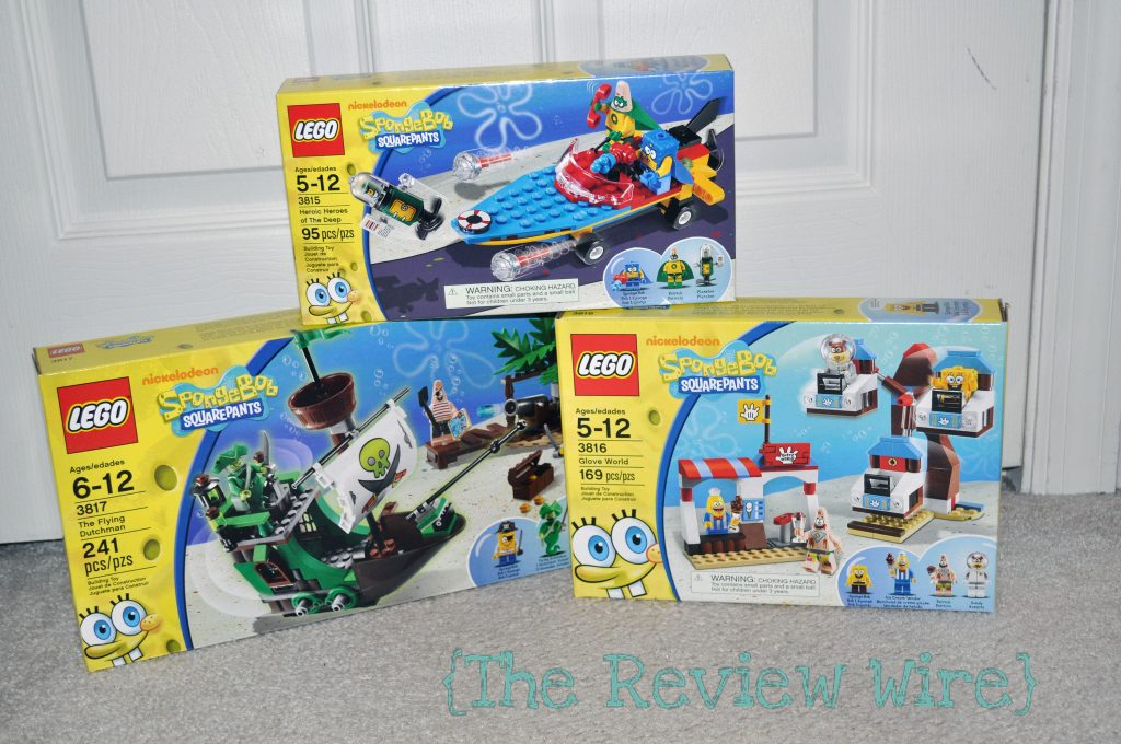 SpongeBob Lego Sets