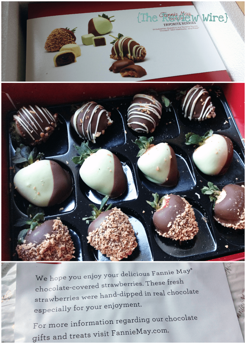Fannie May Chocolate Dipped Strawberries