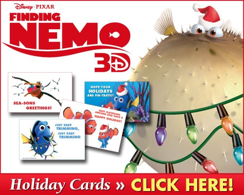 Finding Nemo Holiday Cards