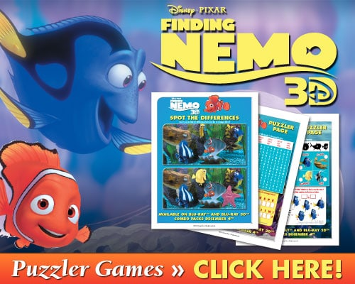 Finding Nemo Puzzler Games
