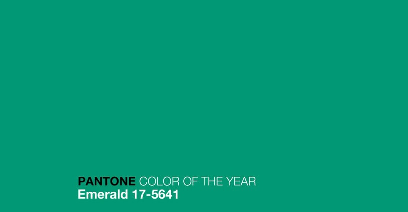 pantone color of 2013: emerald