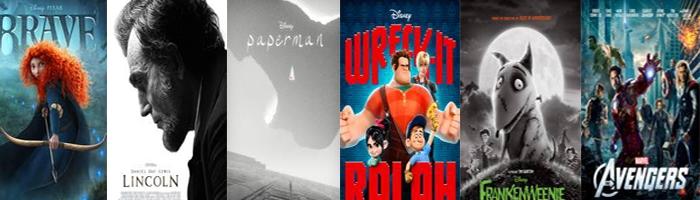 The Walt Disney Studios' Earns 17 Oscar Nominations!