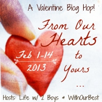 From Our Hearts To Yours Giveaway Hop 2013