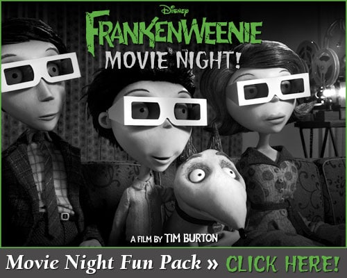 The Review Wire - Frankenweenie Movie Night Activity Pack