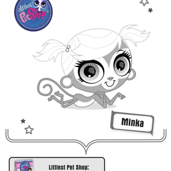 The Review Wire - Littlest Pet Shop Coloring Sheet