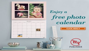 A gift from MyPublisher: FREE photo calendar!