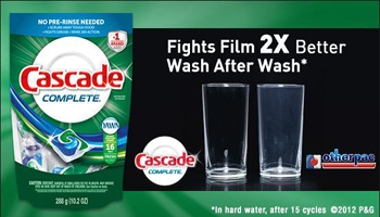 Sparkling Clean in 2013 with Cascade | #CascadeComplete