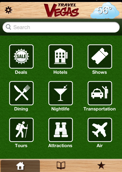 Travel Vegas App