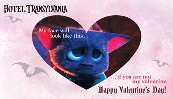 Hotel Transylvania Valentine's Day Printables