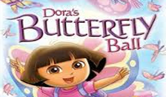 Dora the Explorer DVD: Dora's Butterfly Ball