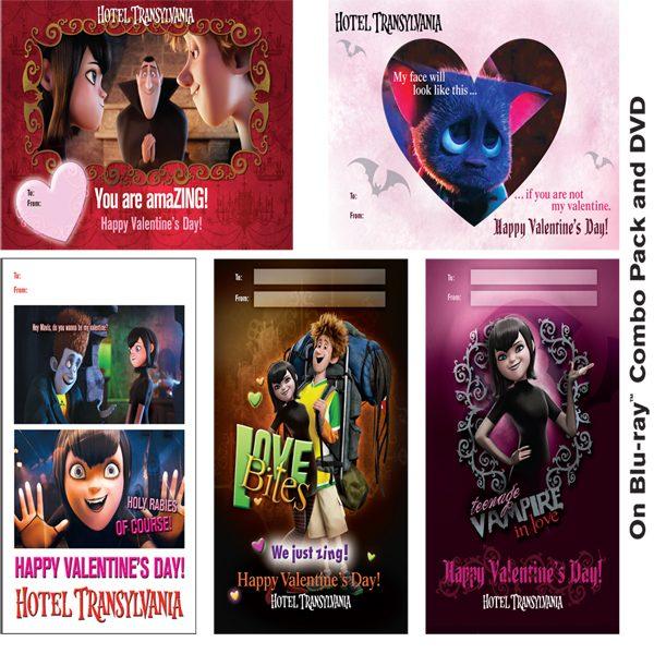 Hotel Transylvania Printables: Valentine's Day Cards