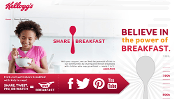 Share Breakfast With Kellogg's