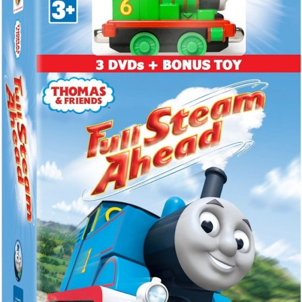 Thomas & Friends DVD: Full Steam Ahead 3-DVD with Bonus Toy Gift Set