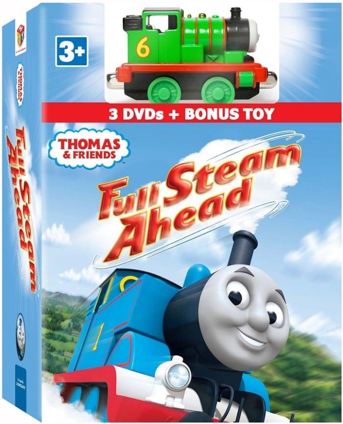 Thomas & Friends DVD: Full Steam Ahead 3-DVD with Bonus Toy Gift Set