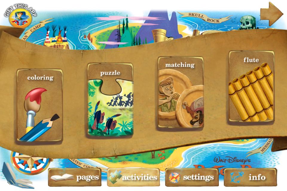 Disney's Peter Pan App Review