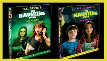 R.L. Stine's The Haunting Hour Series Review: Vols. 3/4