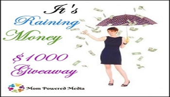 It's Raining Money...Enter to Win $1000! Ends 5.1.13