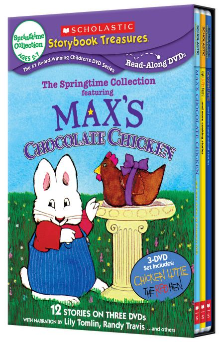 Scholastic DVD: The Springtime Collection 3 Set DVD