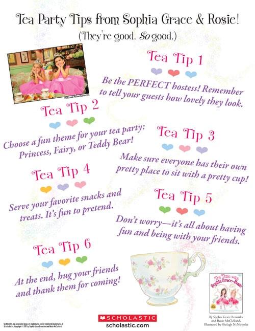 Tea Time Tips