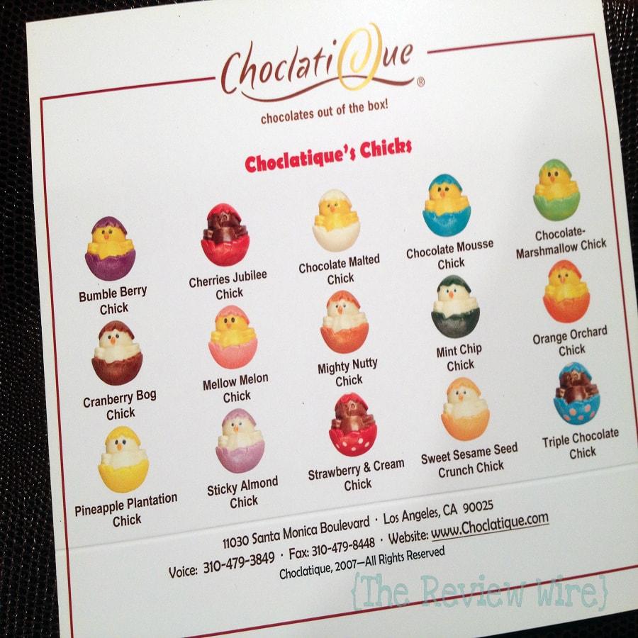 Choclatique Review