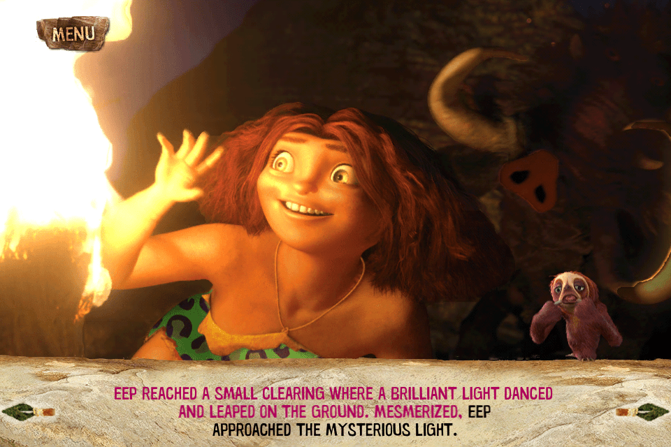 The Croods App: Movie Storybook Review