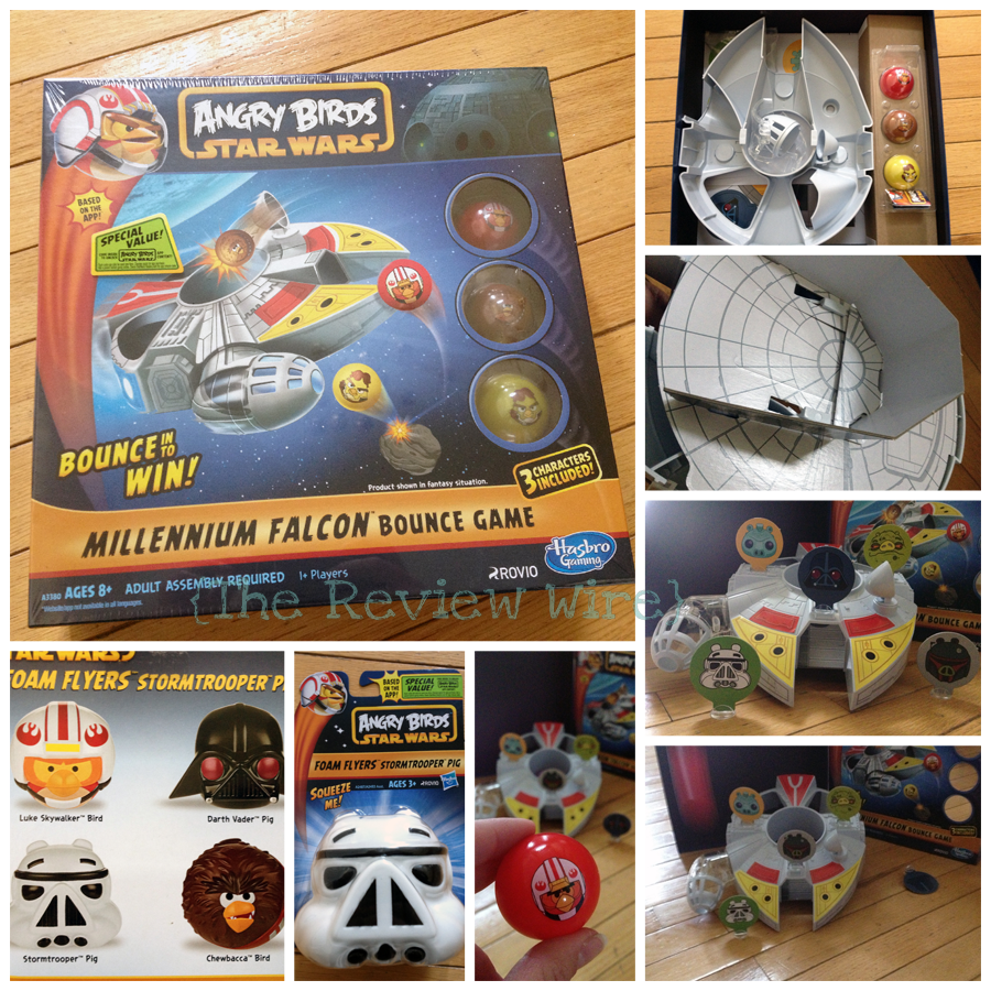 Hasbro Star Wars Millennium Falcon Bounce Game