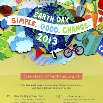 Let's Celebrate Earth Day 2013