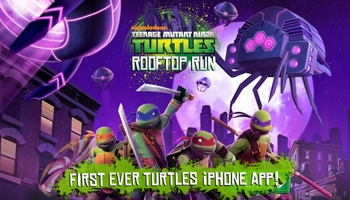 Teenage Mutant Ninja Turtles App Review: Rooftop Run