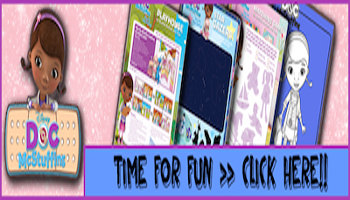 Doc McSuffins Printable Activities