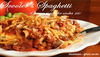 Scooter's Spaghetti Recipe