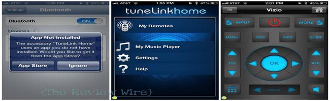 TuneLink Home Set Up