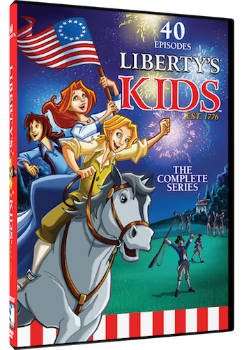 LIBERTYS KIDS THE COMPLETE SERIES