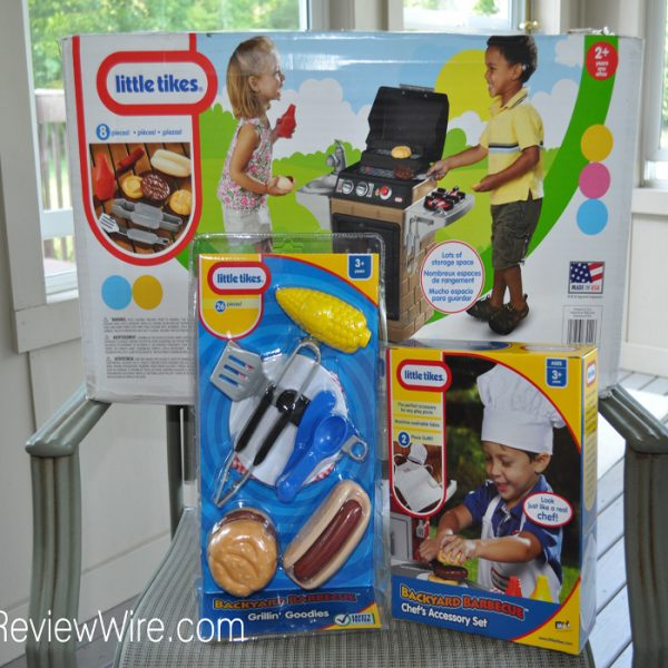 Little Tikes Get Out N Grill