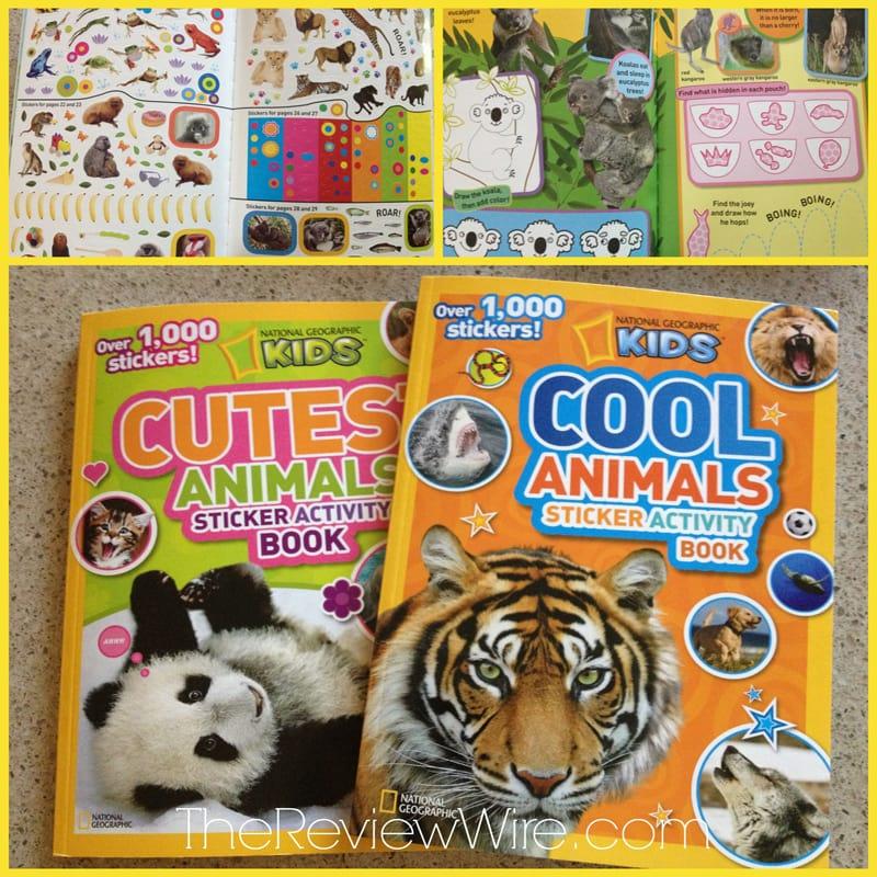 Nay Geo Sticker Book