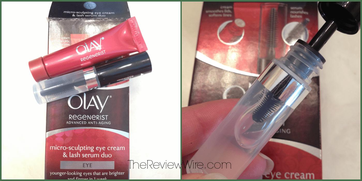Olay Regenerist Micro-Sculpting Eye Cream & Lash Serum Duo