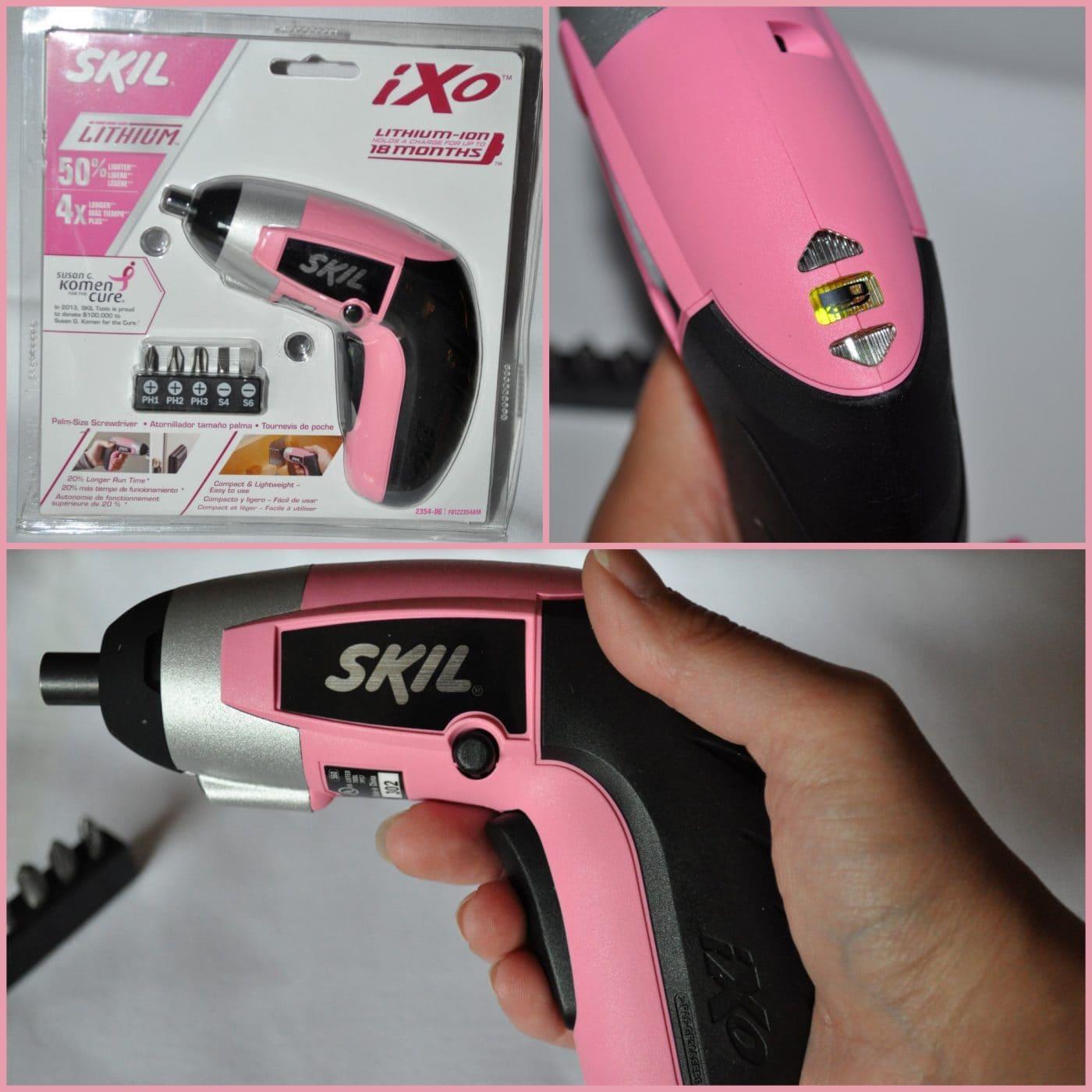 SKIL iXO Pink Review: Palm-Sized Screwdriver