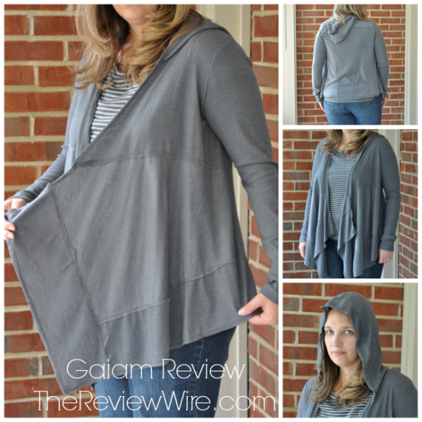 Gaiam: Cascade Cardigan Review