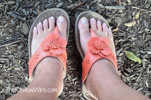 Orange Therafit Sandal
