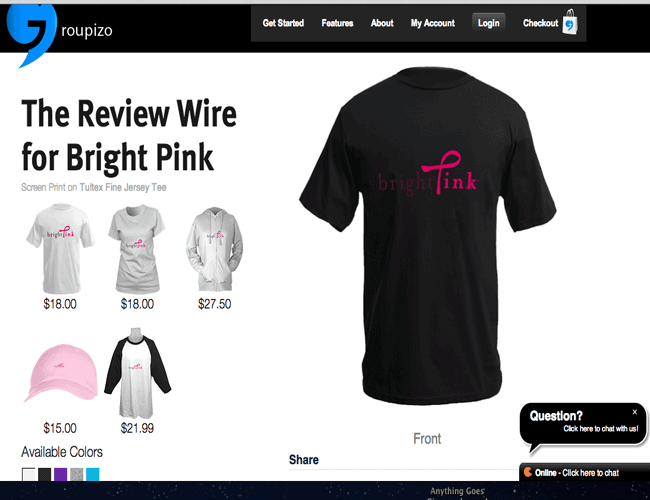 The Review Wire for Bright Pink