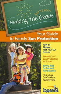 coppertone sun protection guide