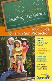 coppertone sun protection guide