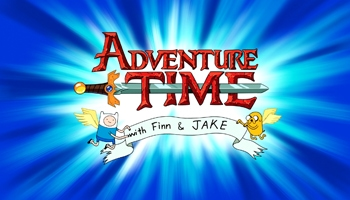 Adventure Time: Jake the Dad DVD Plus Make Your Own Finn & Jake Cutouts