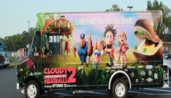 Cloudy with a Chance of Meatballs 2 Foodimobile Tour